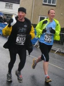 Courier Insurance Advisor completes Marathon!